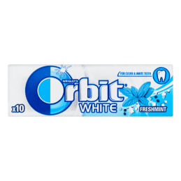 ORBIT W.WHITE DRAZEJE