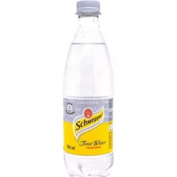 SCHWEPPES TONIC WATER 0.5L.